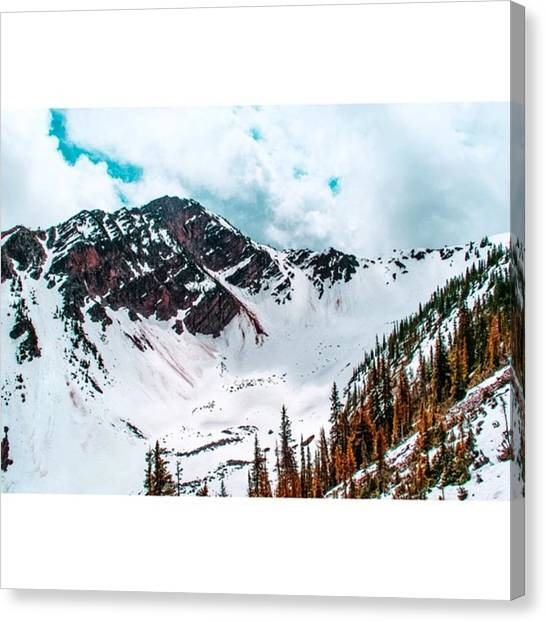 Scotty Canvas Print - Heavenly Bowl At Kicking Horse Resort by Scotty Brown