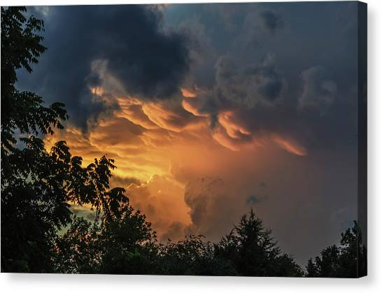 Heavenly Clouds Canvas Print