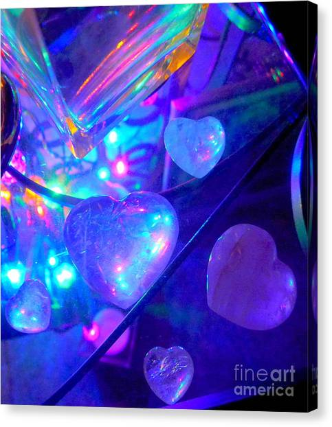 Heavenly Hearts Canvas Print