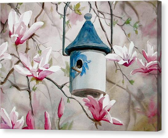 Heavenly Home Canvas Print by Faye Ziegler
