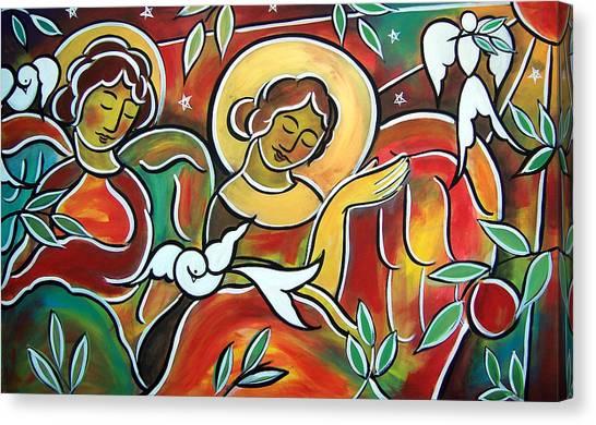 Heavenly Hosts Canvas Print