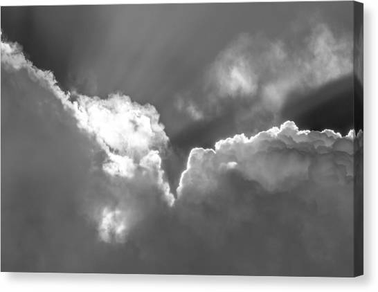 Heavenly Light Canvas Print