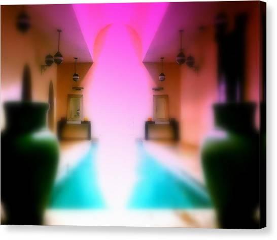 Heavenly Marrakech Spa Canvas Print