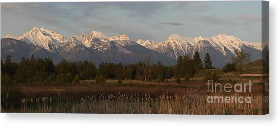 Heavenly Mission Panorama Canvas Print