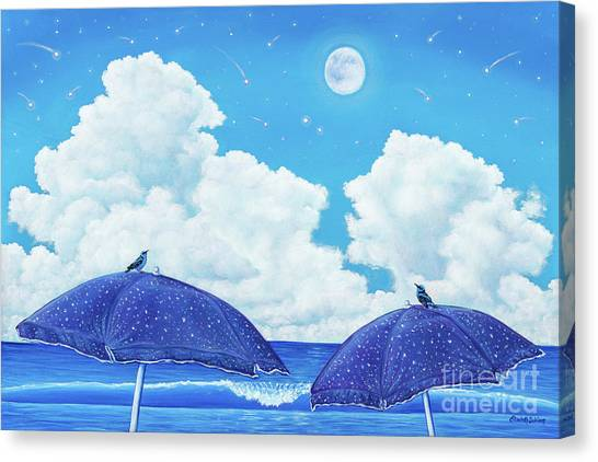 Heavenly Shower Canvas Print