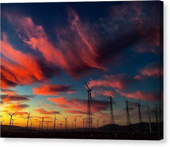 Heavenly Sunrise Canvas Print