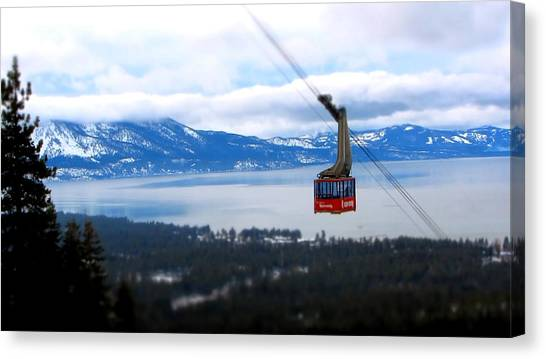 Heavenly Tram South Lake Tahoe Canvas Print