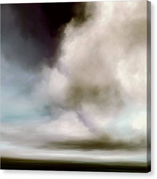 Clouds Canvas Print - Heavens Divide by Lonnie Christopher