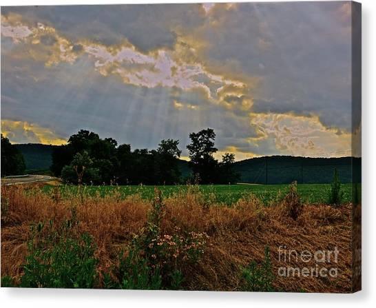 Heaven's Ever Loving Light Canvas Print