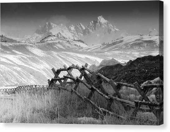 Heavens Gate.. Canvas Print