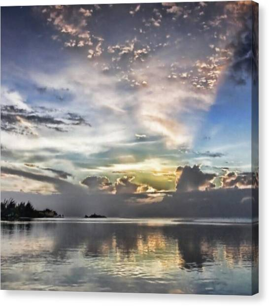 Landscapes Canvas Print - Heaven's Light - Coyaba, Ironshore by John Edwards