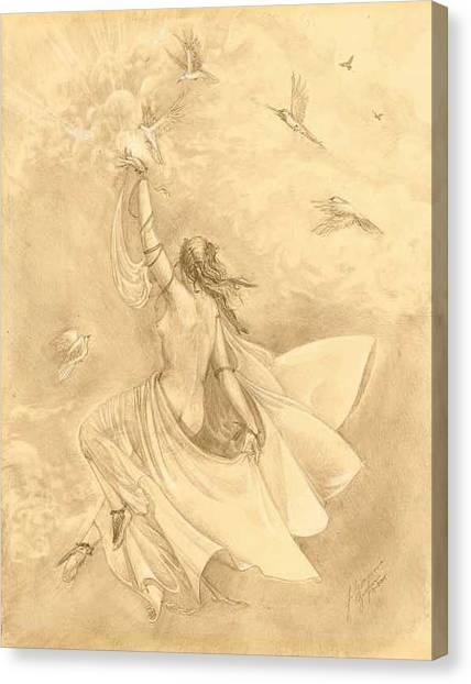 Heavenward Canvas Print by Julianna Ziegler