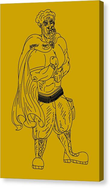 Hebrew Hero Canvas Print