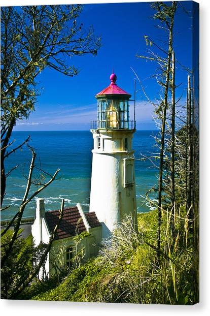 Heceta Lighthouse I Canvas Print