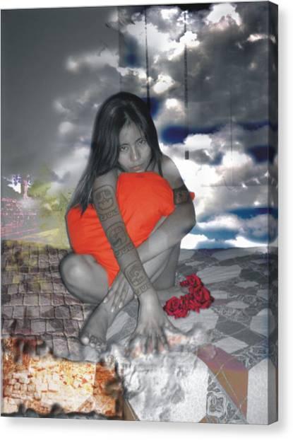 Hechicera Canvas Print