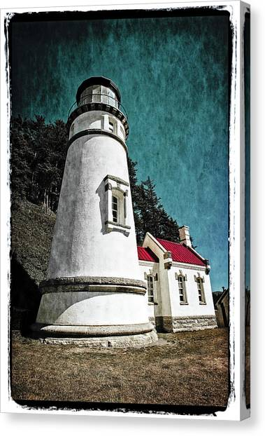 Hecitia Head Lighthouse Canvas Print