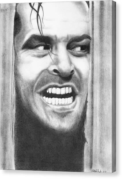 Heeeres Johnny Canvas Print by Christopher Brooks