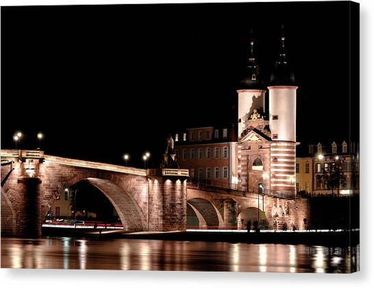Heidelberg Bridge Canvas Print