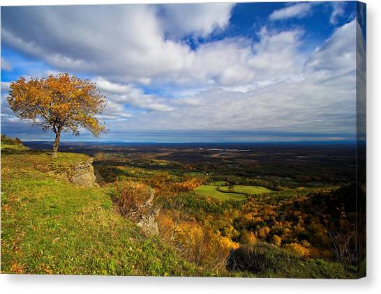 Heldeberg Fall Canvas Print