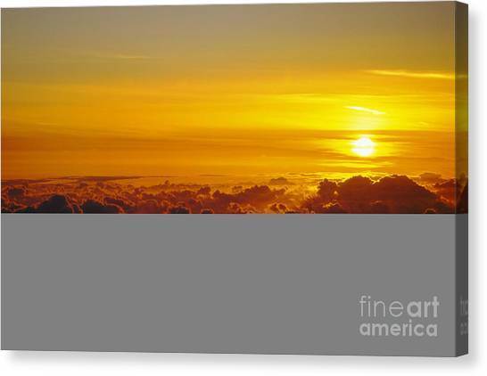 Heleakala Sunrise Canvas Print