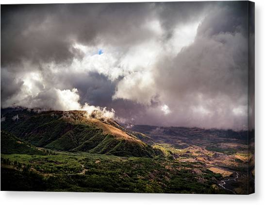 Helens Valley Canvas Print