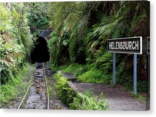 Helensburgh Old Station Canvas Print