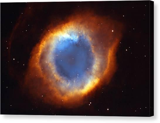 Science Education Canvas Print - Helix Nebula by Ricky Barnard