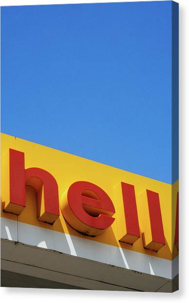 Hell Canvas Print by Dylan Murphy