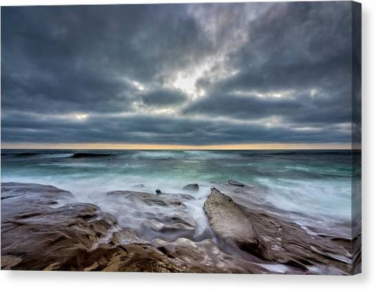 Surf Lifestyle Canvas Print - Hellishly Heavenly by Peter Tellone
