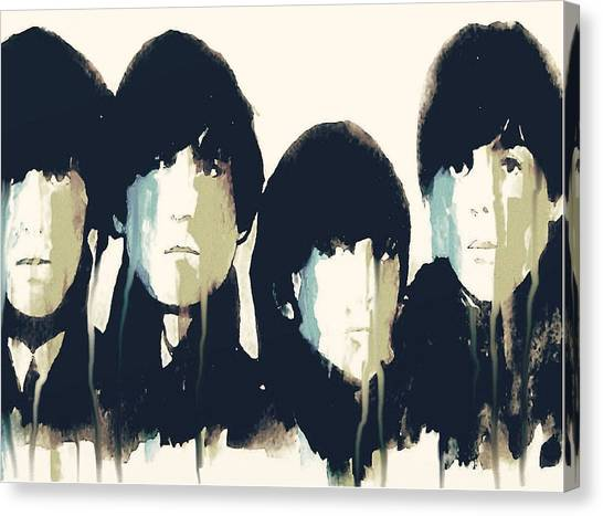 The Beatles Canvas Print - Hello Goodbye by Paul Lovering