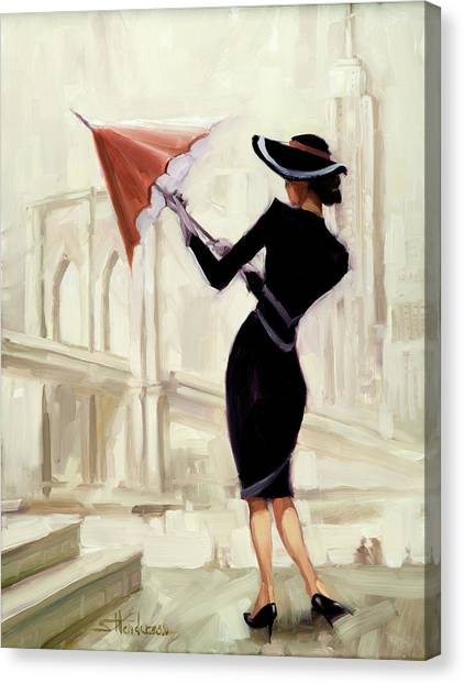 Vogue Canvas Print - Hello New York by Steve Henderson