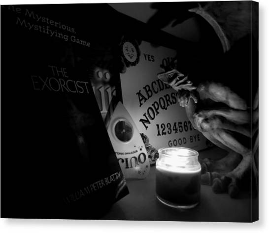 The Exorcist Canvas Print - Exorcist Ouija Board by Kyle West