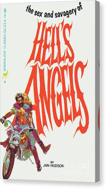 Hell's Angels Canvas Print