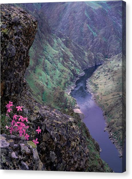 Hells Canyon Canvas Print