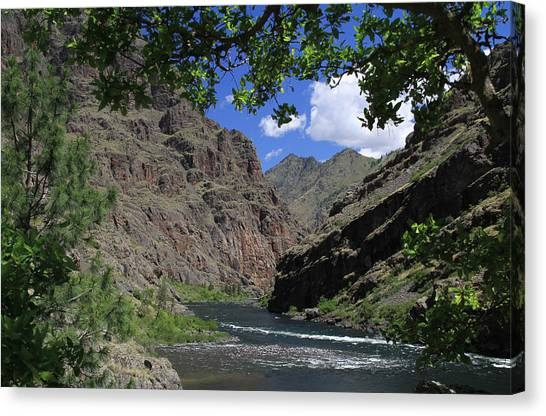 Hells Canyon Snake River Canvas Print