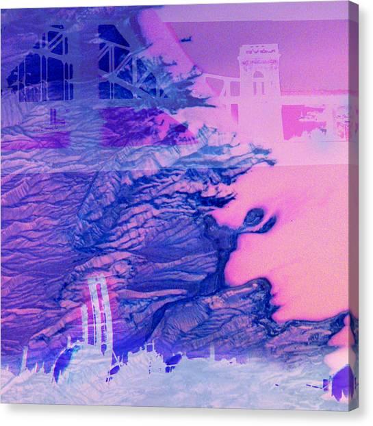 Hells Gate Canvas Print by Fran McNamara