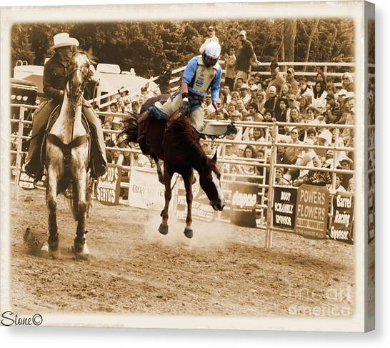 Helluva Rodeo-the Ride 5 Canvas Print