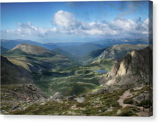 Helms Lake Valley 2 Canvas Print