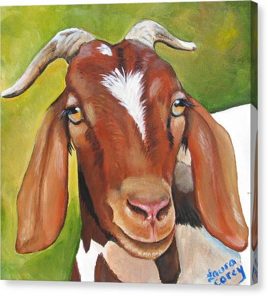 Ewe Canvas Print - Heloise by Laura Carey
