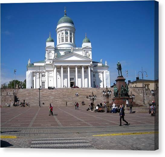 Helsinki Finland-1 Canvas Print