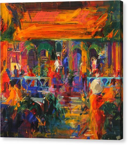 Fresco Canvas Print - Hemingway Summer by Peter Graham