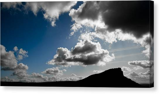 Peak District Canvas Print - Hen Cloud by Chris Dale