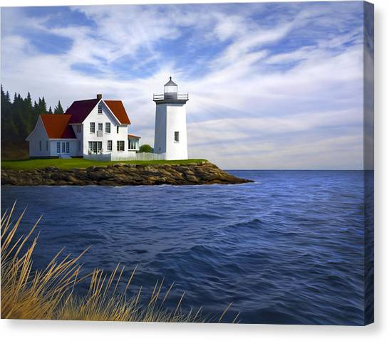 Atlantic 10 Canvas Print - Hendricks Light by James Charles