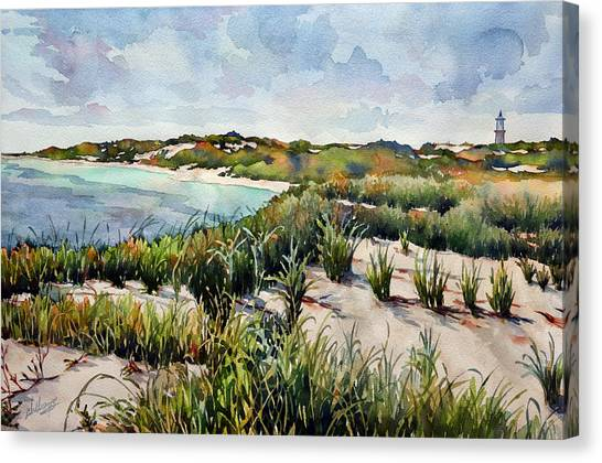 Henlopen Dunes Canvas Print