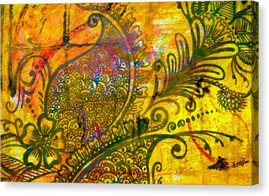 Mehndi Canvas Prints | Fine Art America