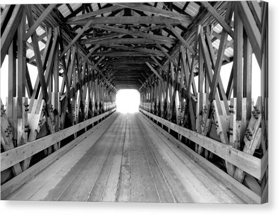 Henniker Covered Bridge Canvas Print