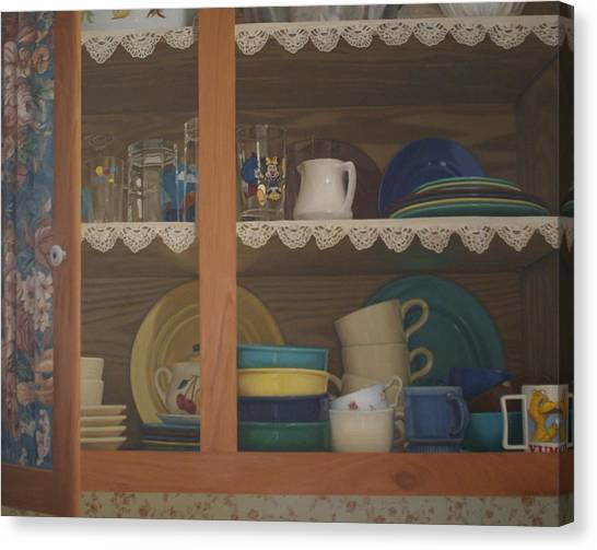 Henrietta's Cupboard Canvas Print