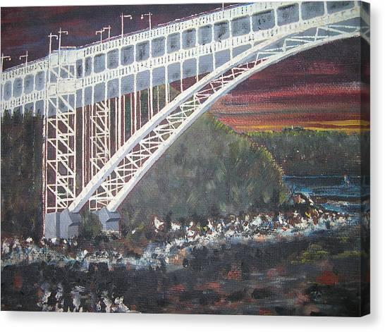 Henry Hudson Bridge Canvas Print