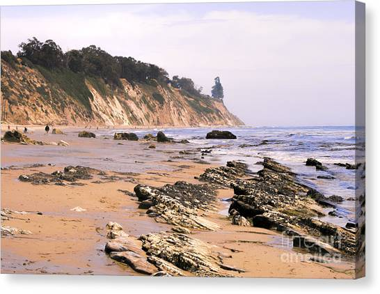 Henry's Beach Canvas Print