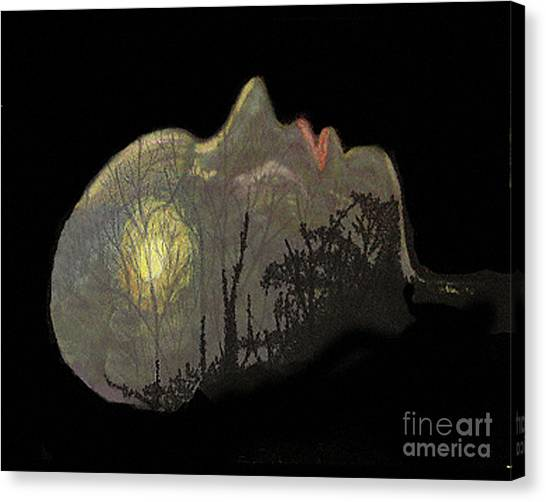 Her Dream Canvas Print